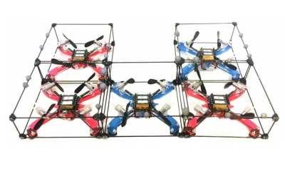 Modquad Modular Drone Robots