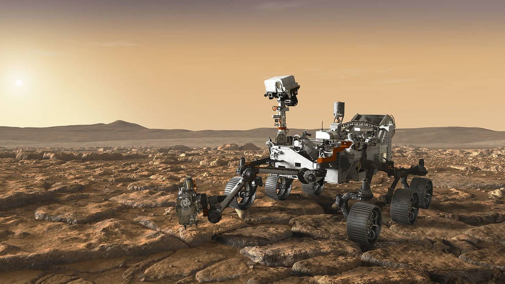 The Mars2020 rover