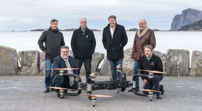 The Drones Project met in Fosnavåg on Sunnmøre this week