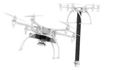 Scientists have armed drones with foldable robotic arms