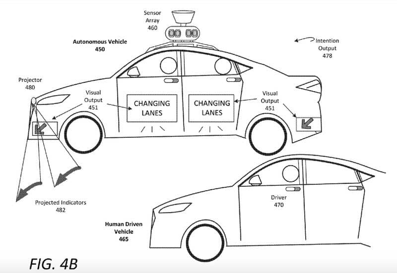 Uber Driverless Car Patent Fig 4B