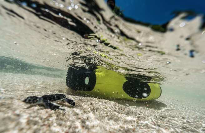 FIFISH P3, an underwater drone designed by QYSEA Technology