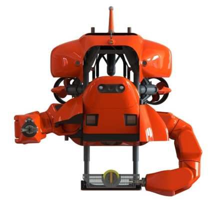 The HMI Aquanaut in WorkClass mode | HMI