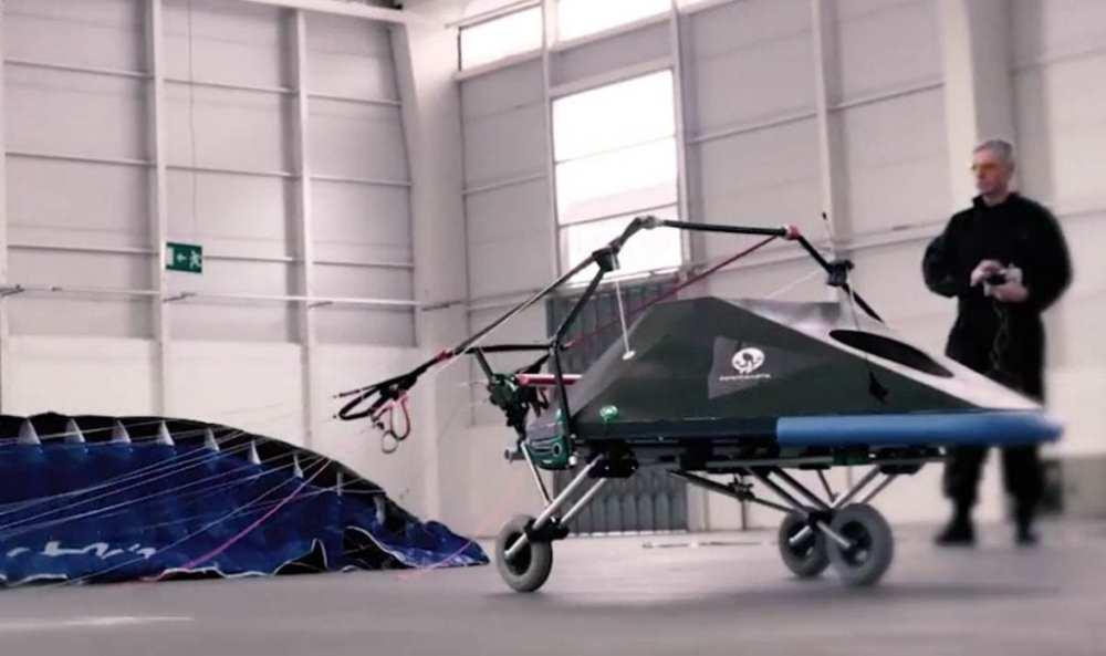 Dragon Praxis Parachute Drone