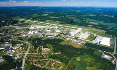 Aerial view of Griffiss International Airport, Rome, N.Y.Mohawk Valley EDGE