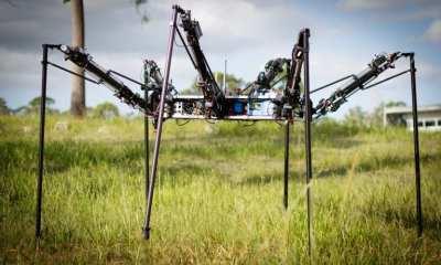 CSIRO's Multilegged Autonomous eXplorer (MAX) | CSIRO Robotics and Autonomous Systems Group