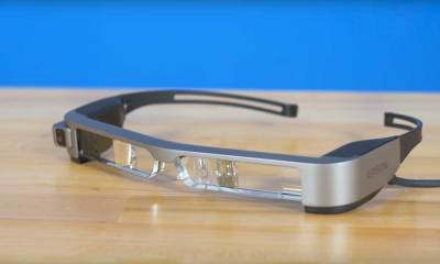 The BT-300FPV Moverio smart glasses | DJI/Youtube