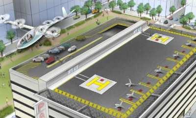 UberAIR Skyport concept | Uber Elevate