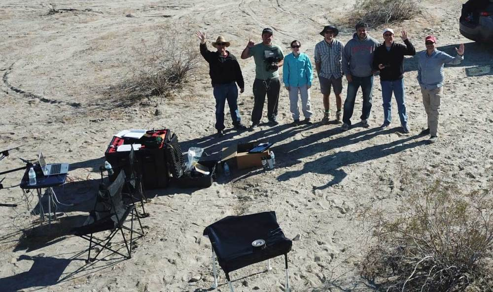 The Department of Geological Sciences at San Diego State University teamed with Geodetics Inc. to research the San Andreas Fault in southern California | USDU