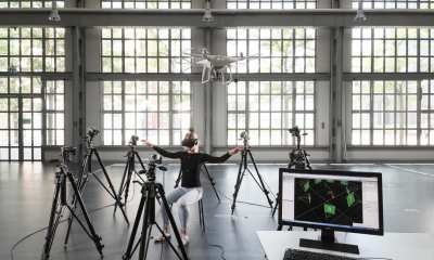 Jenifer Miehlbradt demonstrates the torso strategy developed at EPFL | Supplied