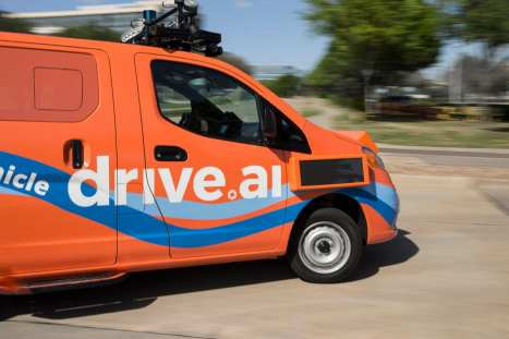 Drive.ai Self-Driving Vans
