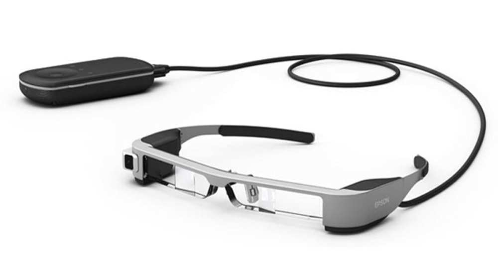 The Moverio BT300 smart glasses