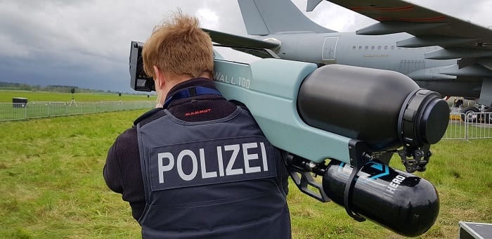 SkyWall100 Protecting the Berlin Airshow