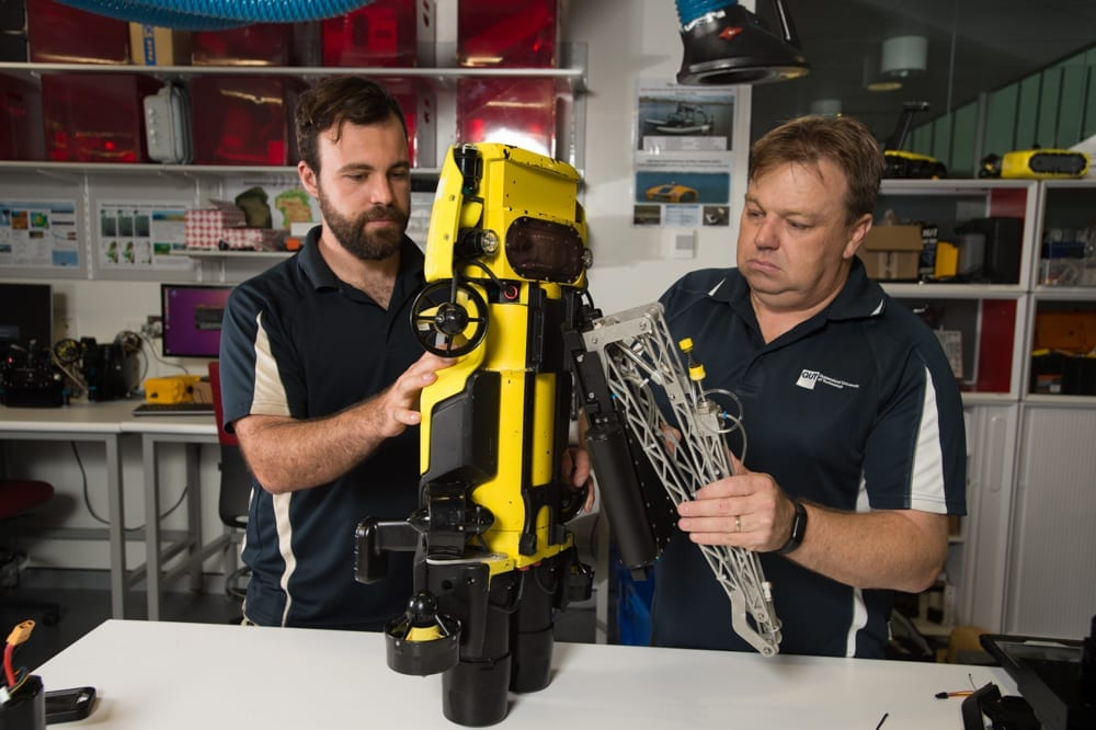 RangerBot is the result of the Great Barrier Reef Foundation teaming up with QUT roboticists Professor Matthew Dunbabin and Dr Feras Dayoub in 2016 to enter the Google Impact Challenge.