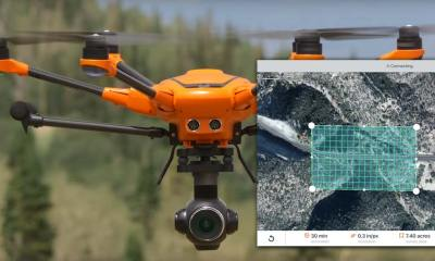 Yuneec H520 and 3DR dronecode