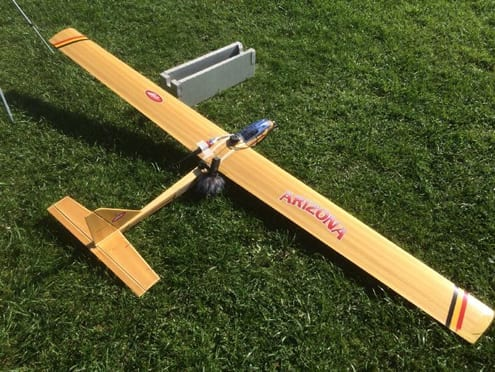 Second fixed-wing drone tested and equipped with the ZOOM H1 Handy Recorder