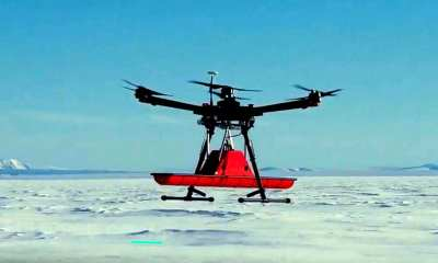 In July 2018 members of SPH Engineering team joined an expedition to Greenland with the intention of testing the new drone-radar system using a ground penetrating radar (GPR) together with UgCS (http://www.ugcs.com) flight planning software.