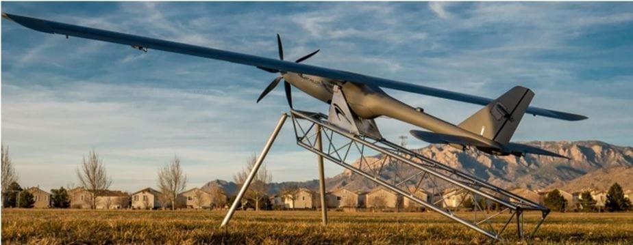Solar-electric Silent Falcon UAV in present basic version