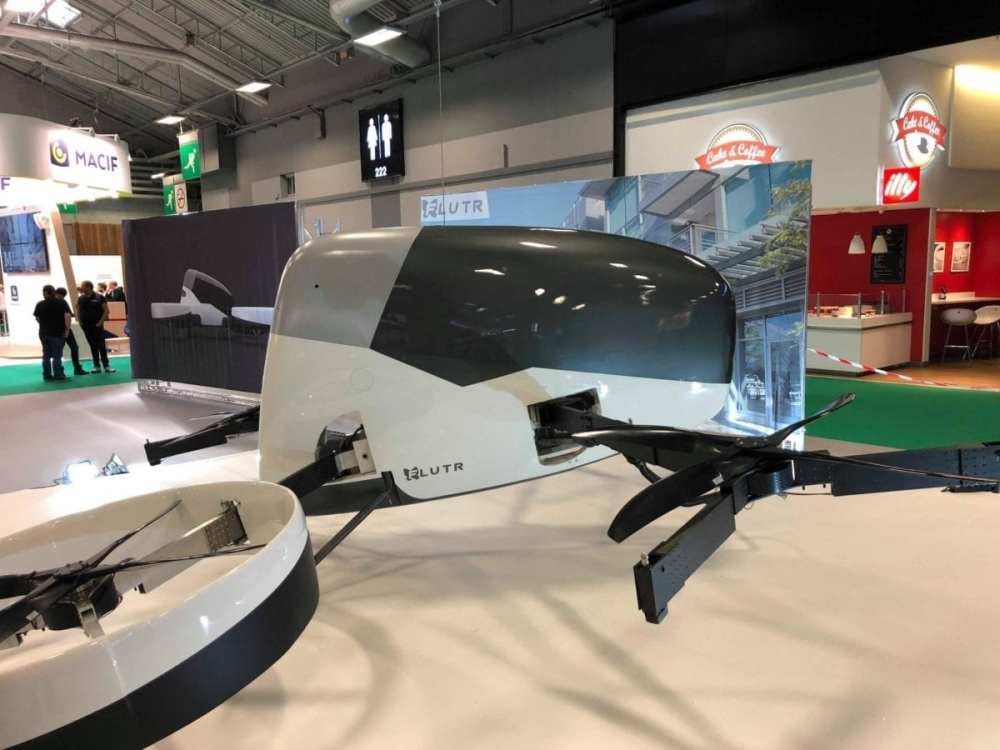 Paris Motor Show 2018: FLUTR Debuts as one of the First Passenger-Carrying Drones