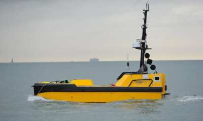 L3 ASV's C-Worker 7 is a multi-role work class autonomous vessel suitable for a variety of offshore and coastal tasks. (Photo: Business Wire)