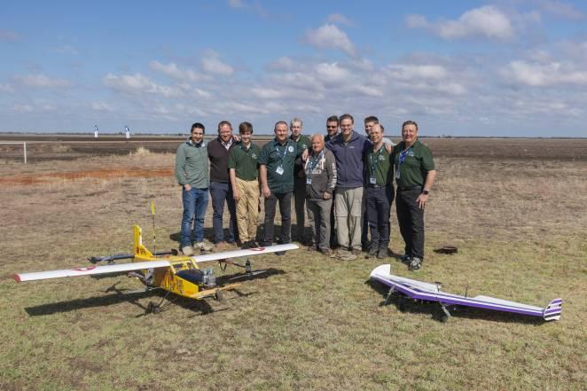 Canberra UAV team of 2018 Medical Express Challenge