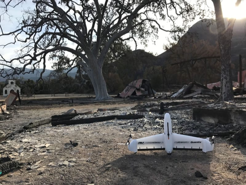 AeroVironment Quantix™ drone & Decision Support System™ data analytics platform delivered drone-based aerial imagery and actionable intelligence to guide disaster assessment and recovery efforts