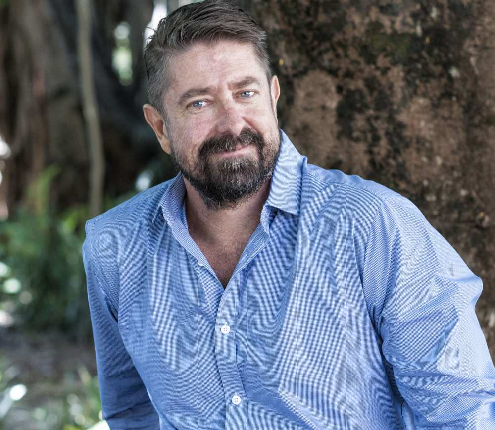 Dr Grant Hamilton is looking at the invasive pest myrtle rust and its spread across the Australian bush and into Brisbane. Photo:QUT Marketing and Communication/Erika Fish.