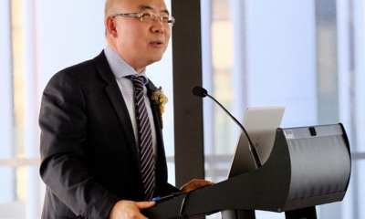 """""""The potential benefits are endless"""": Professor Joe Dong, Director of the UNSW Digital Futures Grid Institute, at the event."""