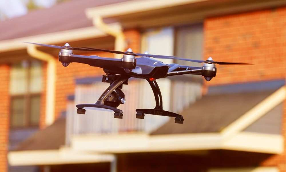 Is this drone a threat? ungvar/Shutterstock.com