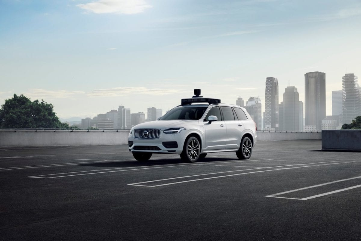Uber and Volvo Cars Unveil New Self-Driving XC90 Car