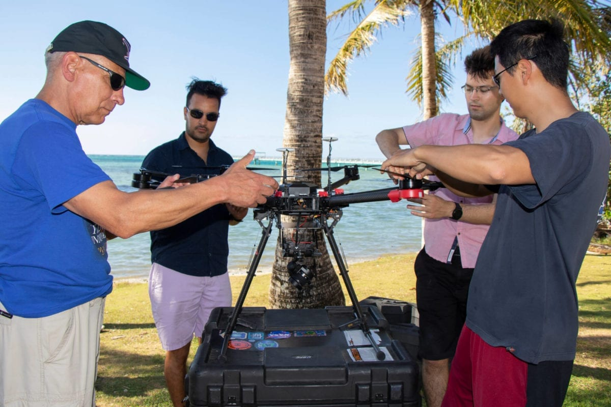 Scientists Use Drones to Map Guam's Coral Reefs