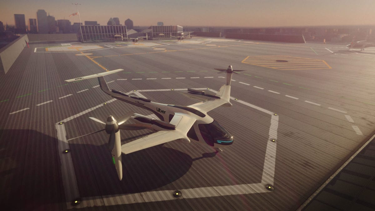 Take a look inside Uber's flying taxis
