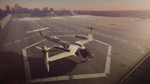 Uber VTOL aircraft