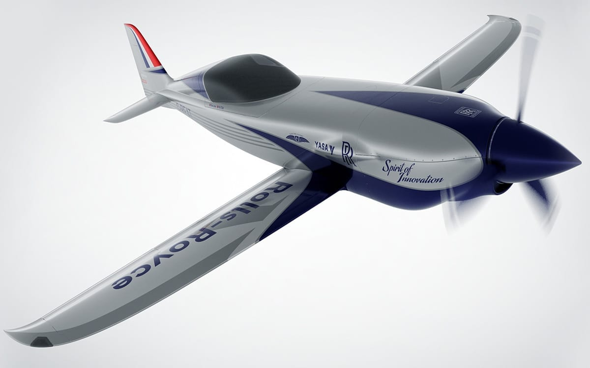Rolls-Royce to Build World's Fastest All-Electric Zero-Emissions Plane