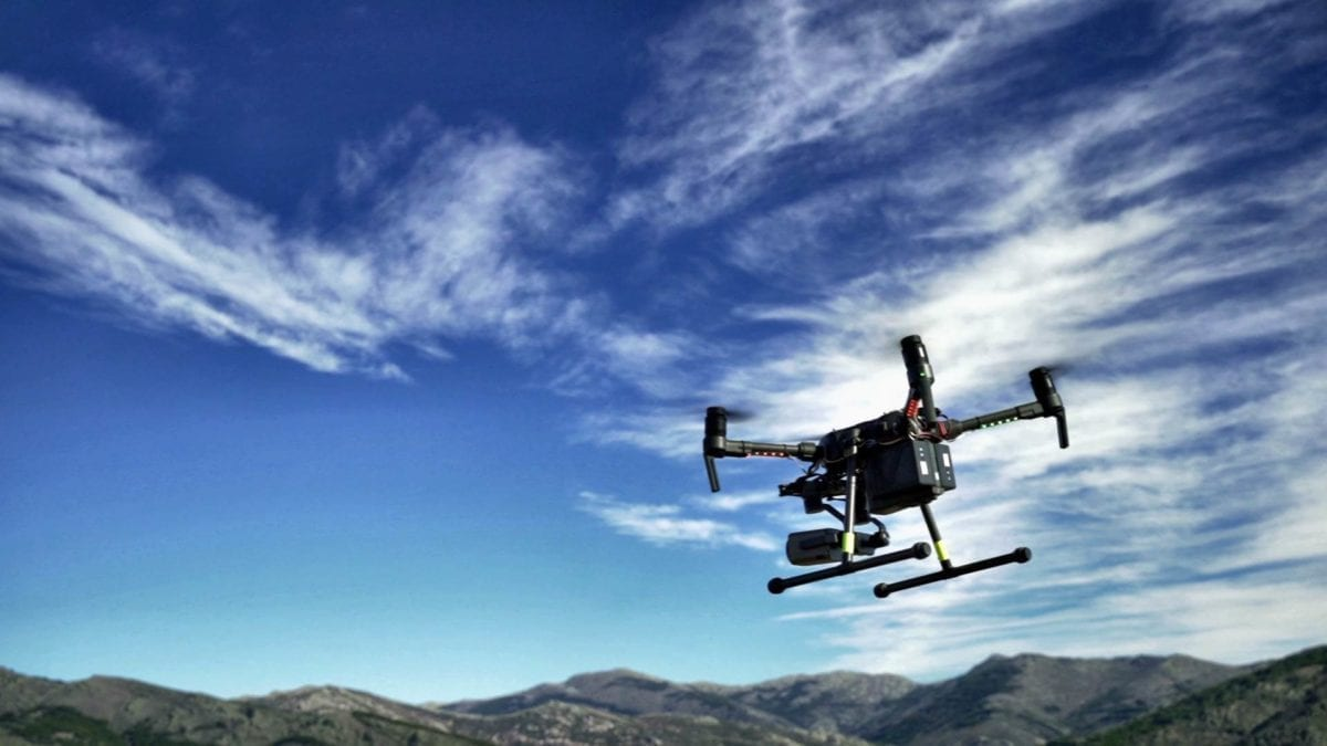 Telefónica Trials Drones for Early Fire Detection
