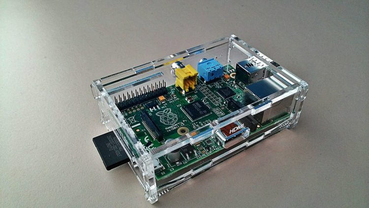 Raspberry Pi in Case
