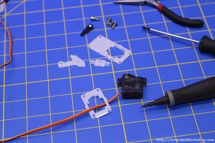 MeArm Step 41-42-43-44 Parts