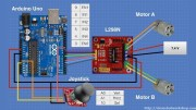 Controlling DC Motors with the L298N Dual H-Bridge and an Arduino
