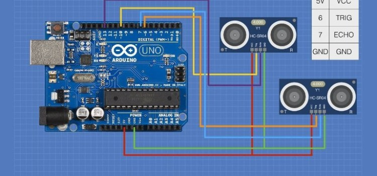 Using the HC-SR04 Ultrasonic Distance Sensor with Arduino