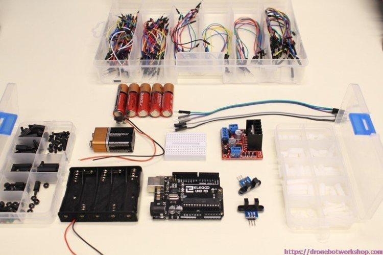 Robot Car Parts