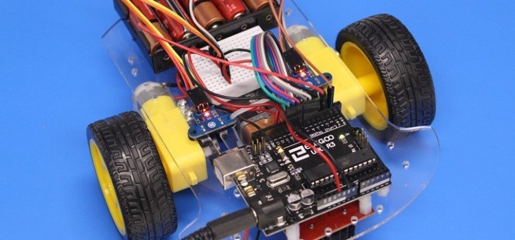 Robot Car With Speed Sensors