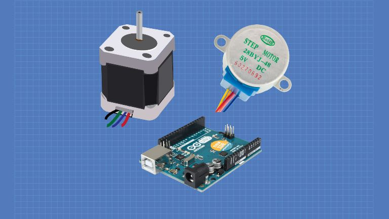 Stepper Motors with Arduino – Getting Started with Stepper Motors