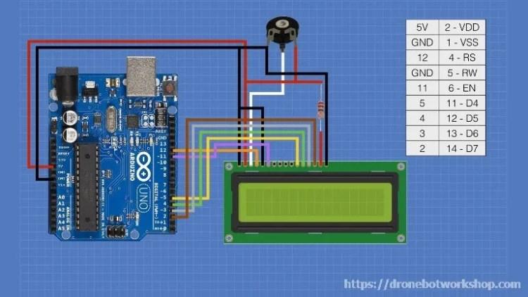 LCD Demo Hookup