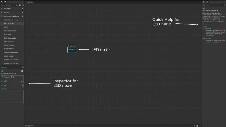 XOD LED Node