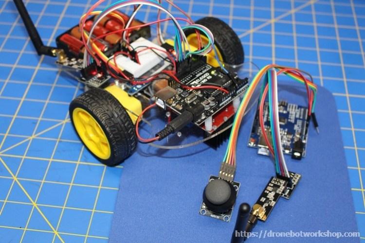 Robot Car with Wireless Joystick