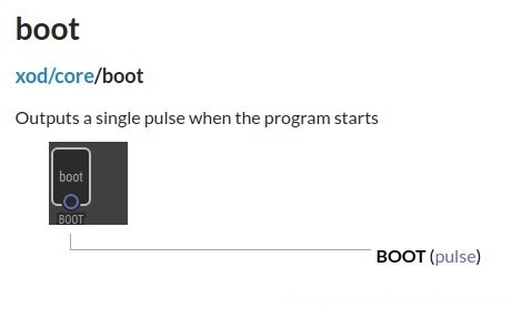 XOD boot node
