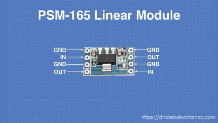 PSM-165 Voltage Regulator Module