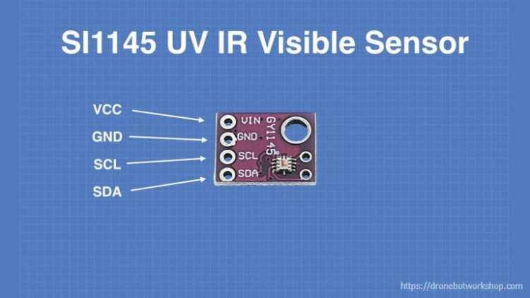 SI1145 UV IR Visible Sensor Pinouts