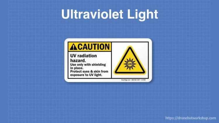 UV Light Warning Symbol