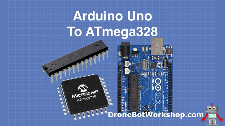 From Arduino Uno to ATmega328 – Shrinking your Arduino Projects